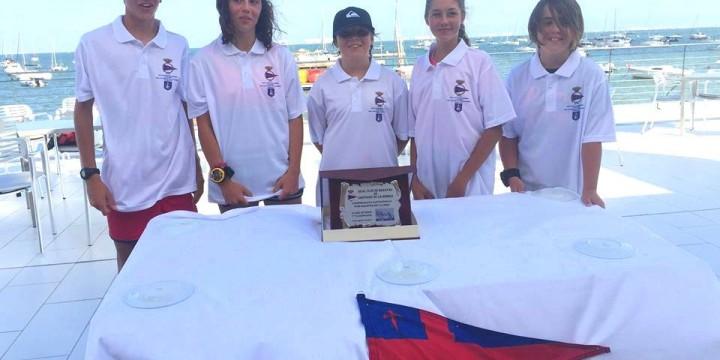 El Real Club de Regatas de Santiago de la Ribera ganador del Campeonato por Equipos de Clubes