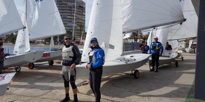 Paco y Marina Sánchez Ferrer, ganadores del XXXIX Trofeo Armada
