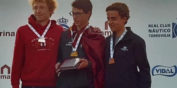 Adolfo Virgili Pascual del Riquelme Campeón de España en el Olympic Week