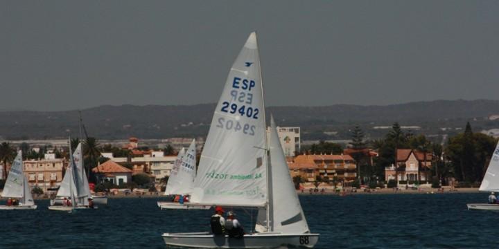 LXV Vuelta al Mar Menor, clase Snipe.