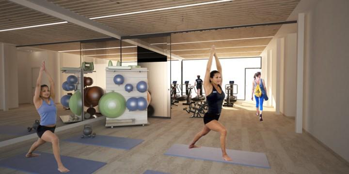 Fotos proyecto creación gimnasio