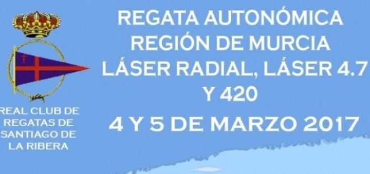 Cartel Regata TAP Autonómico de Vela Ligera
