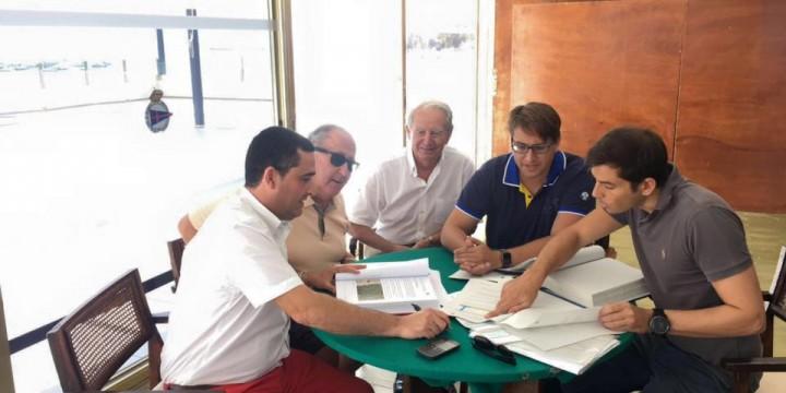 Visita de D.Salvador García-Ayllón Veintimilla. Director General de Transportes, Costas y Puertos.